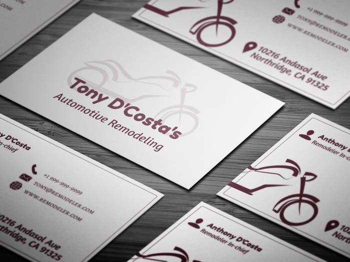 Bike Business Card