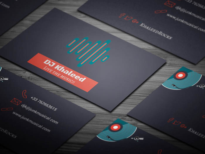 Djing Business Card