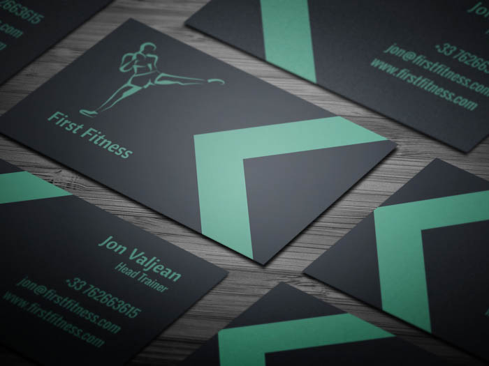 Minimal Fitness Business Card