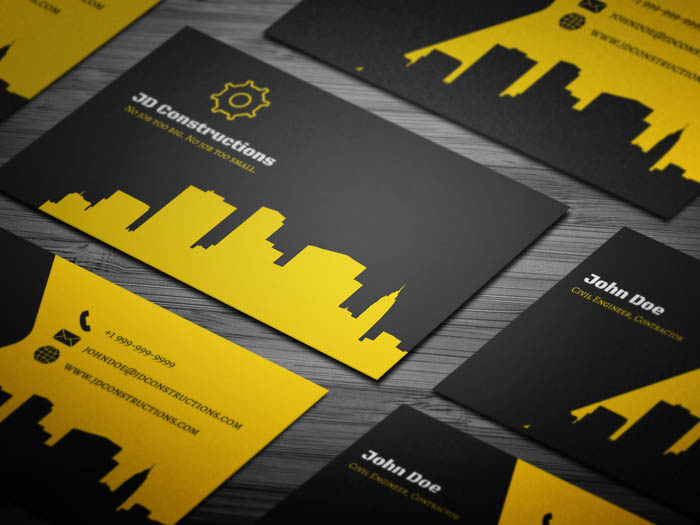 Constructor Business Card