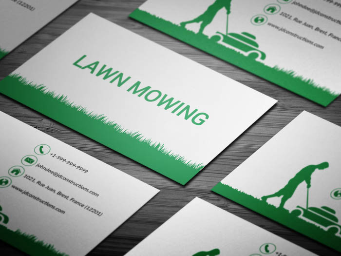 Free landscaping services business card template landscaping services business card colourmoves