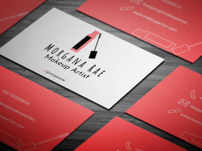 Eyelash Business Card