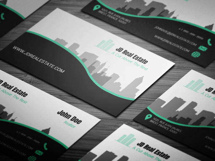 Property Management Business Card
