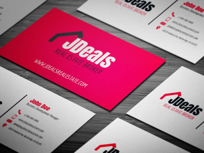 Real Estate Broker Business Card