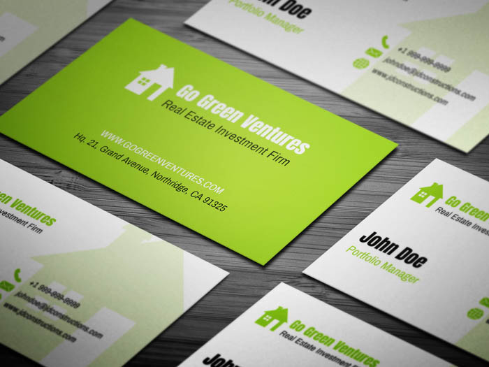 Real Estate Investor Business Card