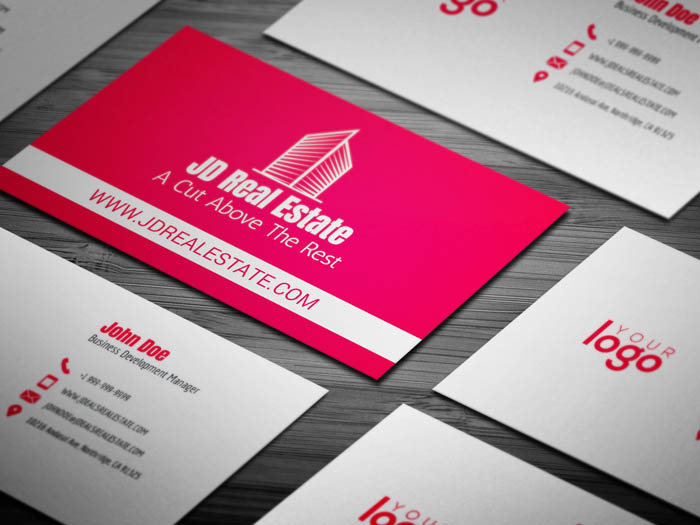 Minimal Realtor Business Card