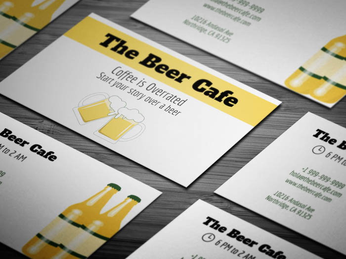 Cafe Express Business Card