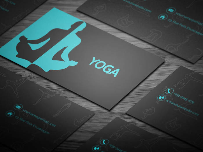 Free yoga instructor business card template yoga instructor business card reheart Image collections