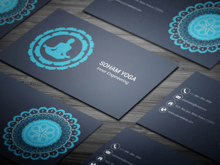 Yoga Class Business Card