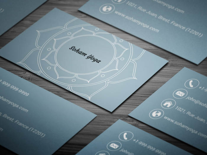 Lotus Business Card