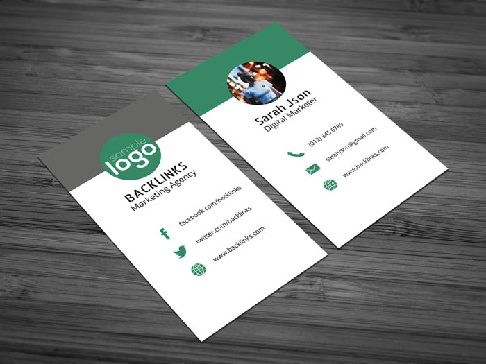 Digital Agency Business Card