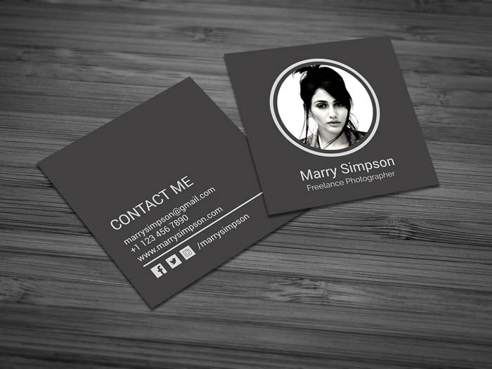Chic Fashion Designer Business Card