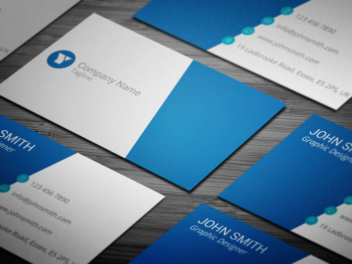 Corporate Event Planning Business Card
