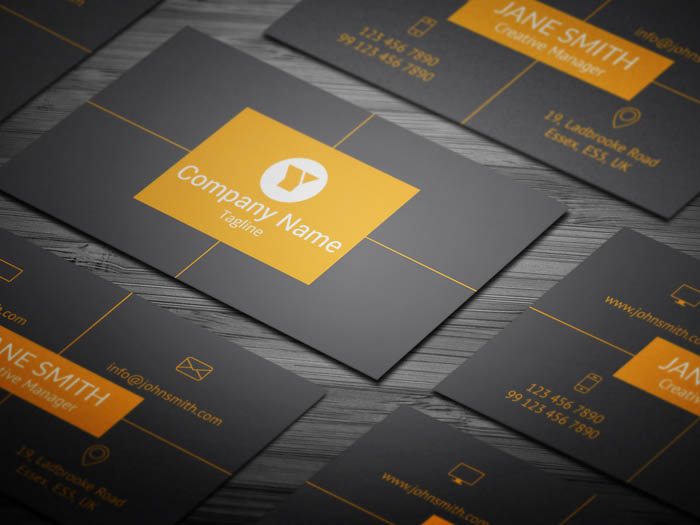 Social Media Manager Business Card