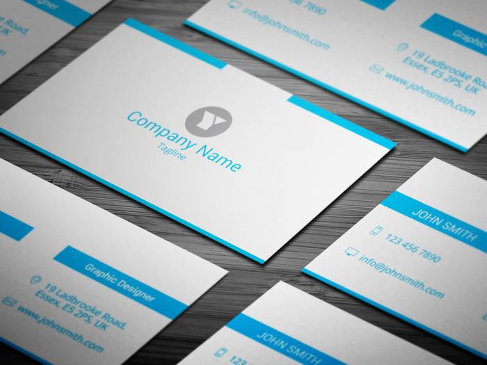 Minimal Entrepreneur Business Card