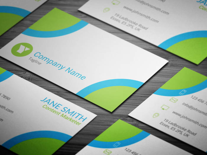 Content Marketer Business Card