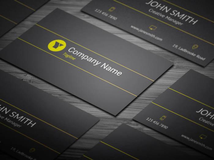 Modern Developer Business Card