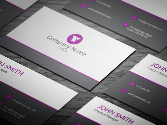Marketing Business Card