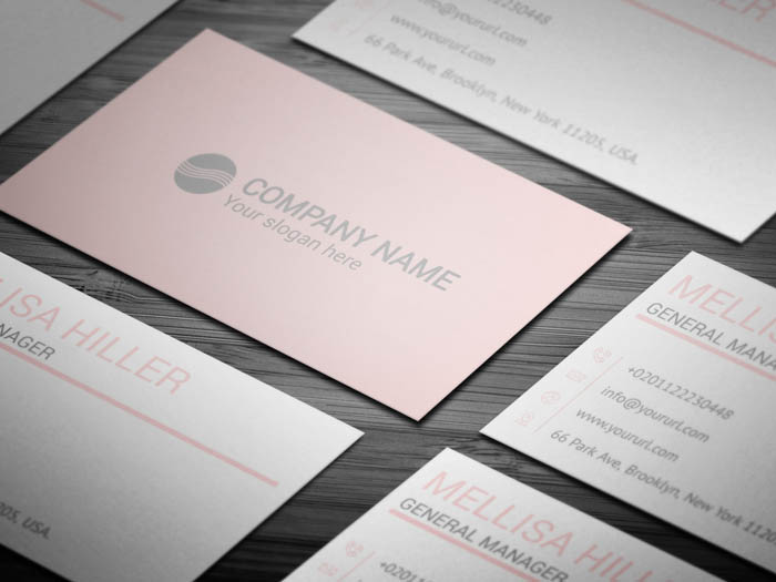 Female Business Card