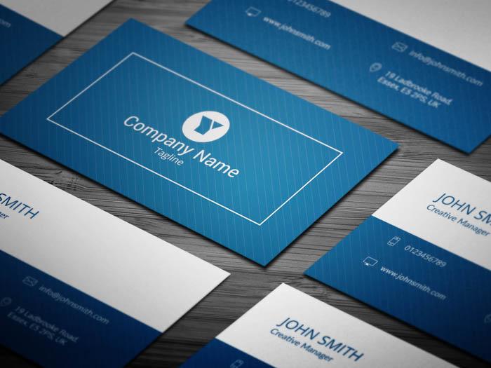 Entrepreneur Business Card
