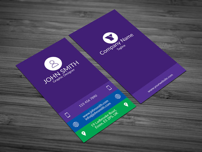 Female Developer Business Card