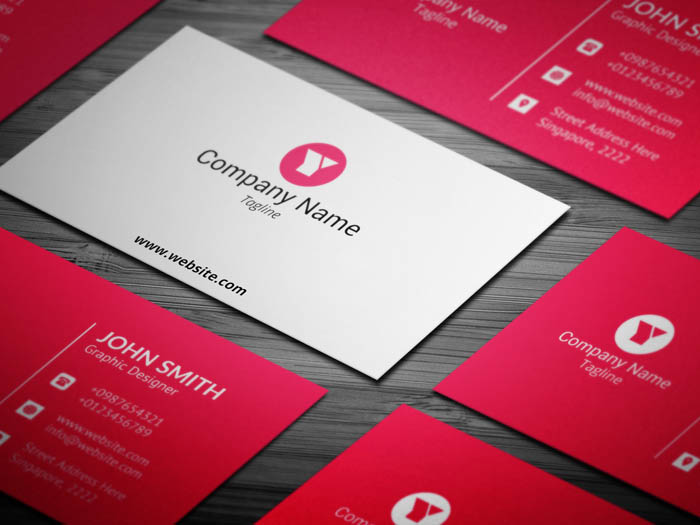 Corporate Event Planner Business Card