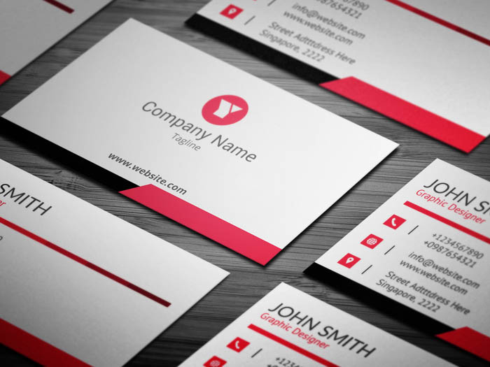 Ad Agency Business Card