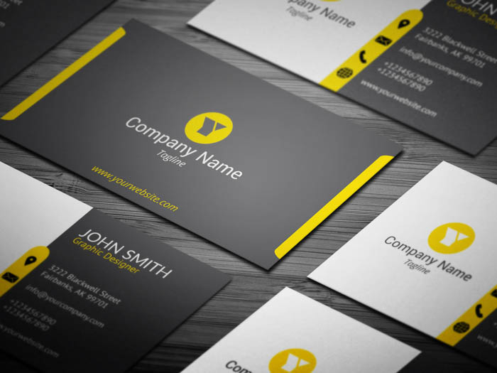 Modern And Minimal Lawyer Business Card