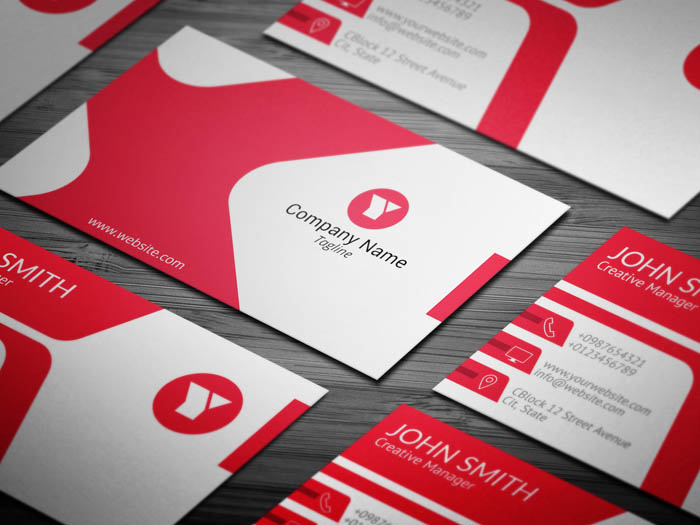3d Artist Business Card