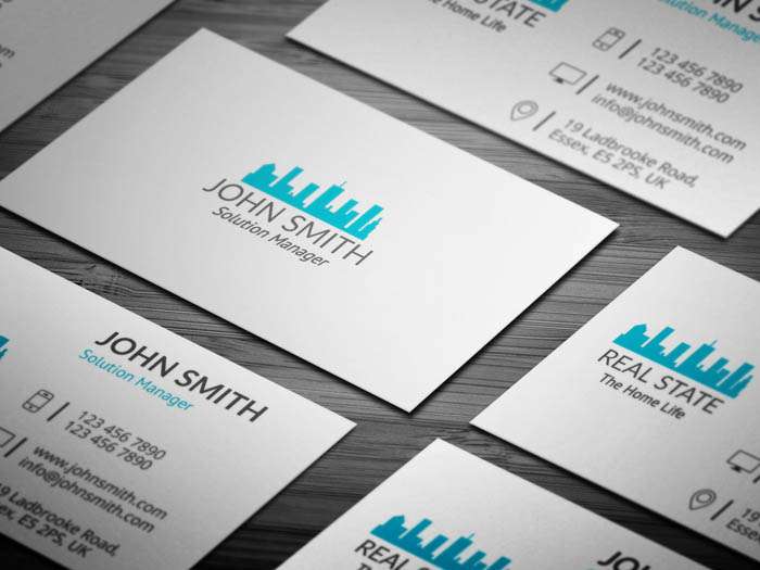 Real Estate Builder Business Card