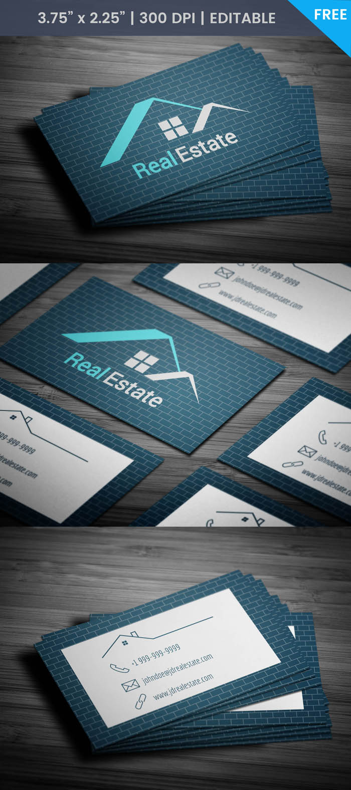 Free Real Estate Appraisal Business Card Template
