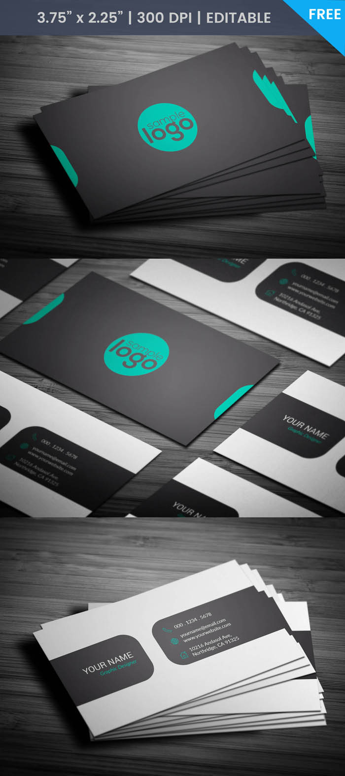 Free Brand Manager Business Card Template