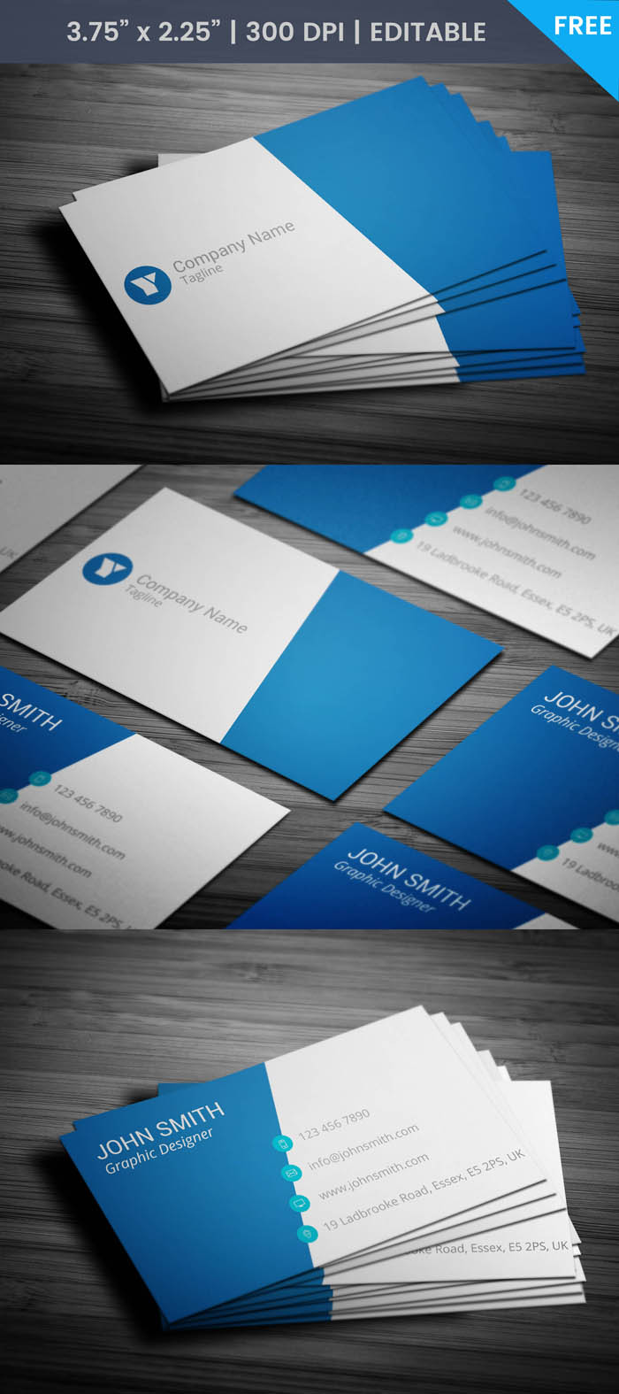 Free Corporate Event Planning Business Card Template
