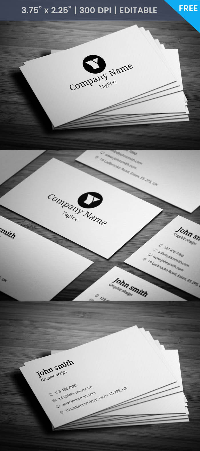 Sleek Business Card - Full Preview