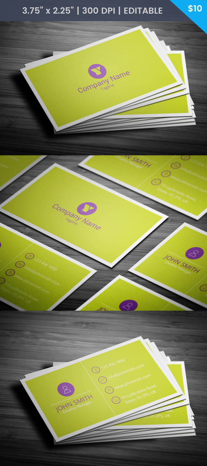 Free Social Worker Business Card Template