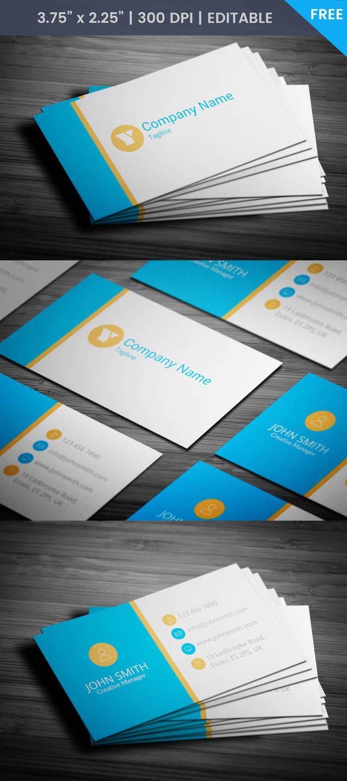 Free Financial Advisor Business Card Template