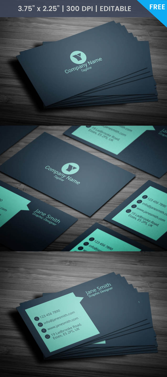 Free Sales Representative Business Card Template