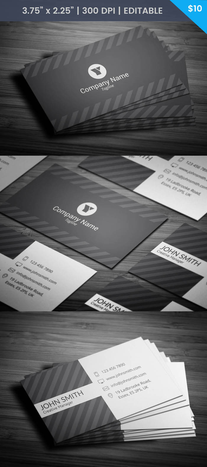 Free Urban Business Card Template