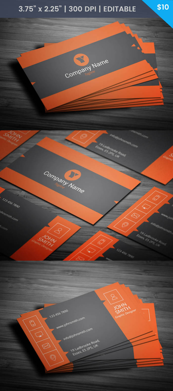 Free Insurance Agent Business Card Template