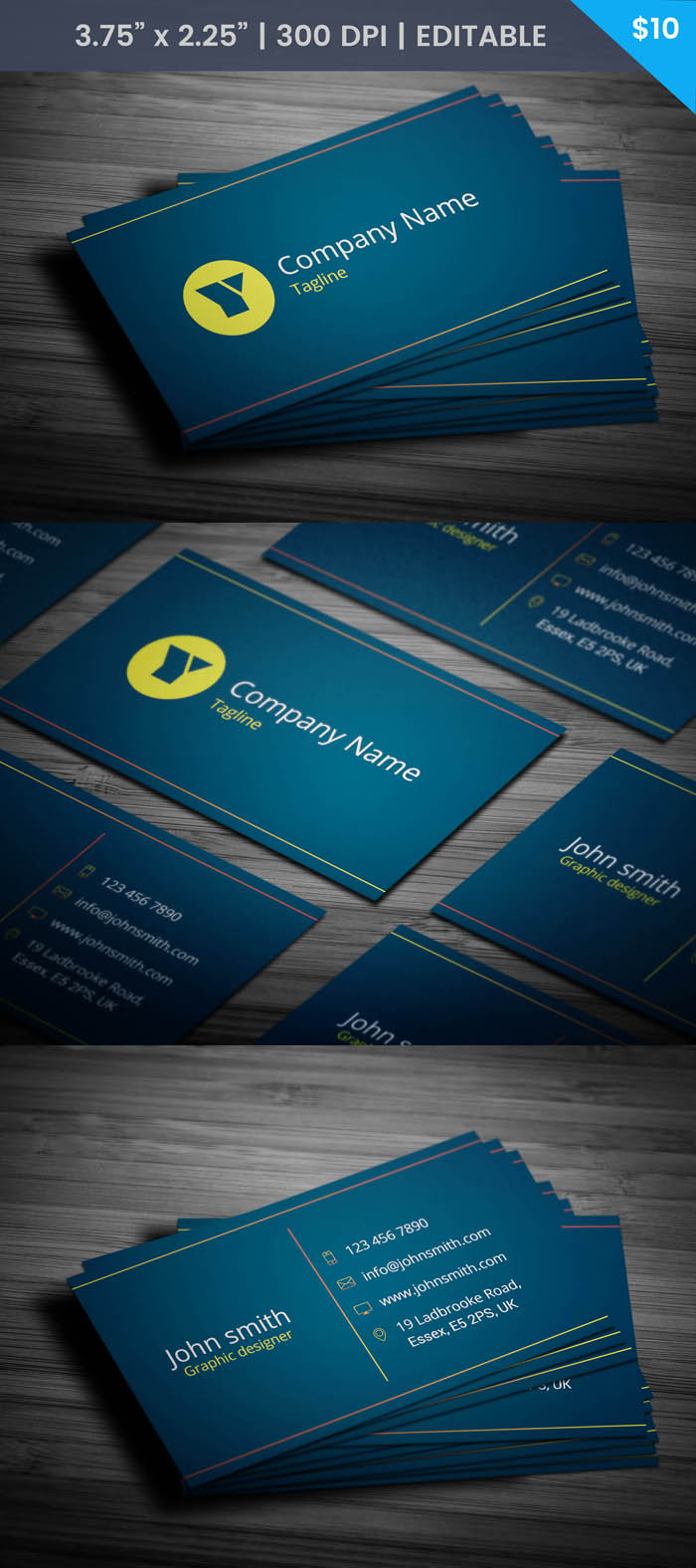 Free Freelance Event Planner Business Card Template
