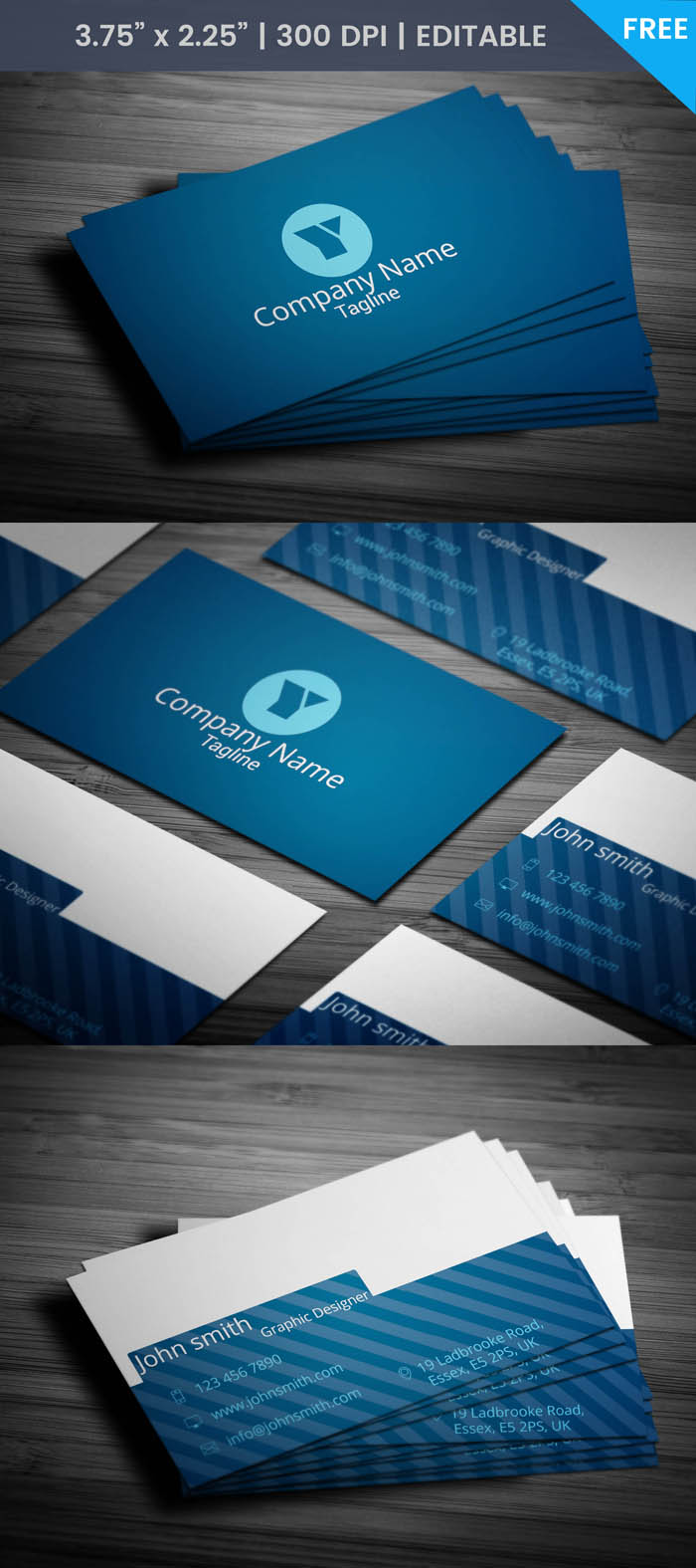 Free Industrial Designer Business Card Template