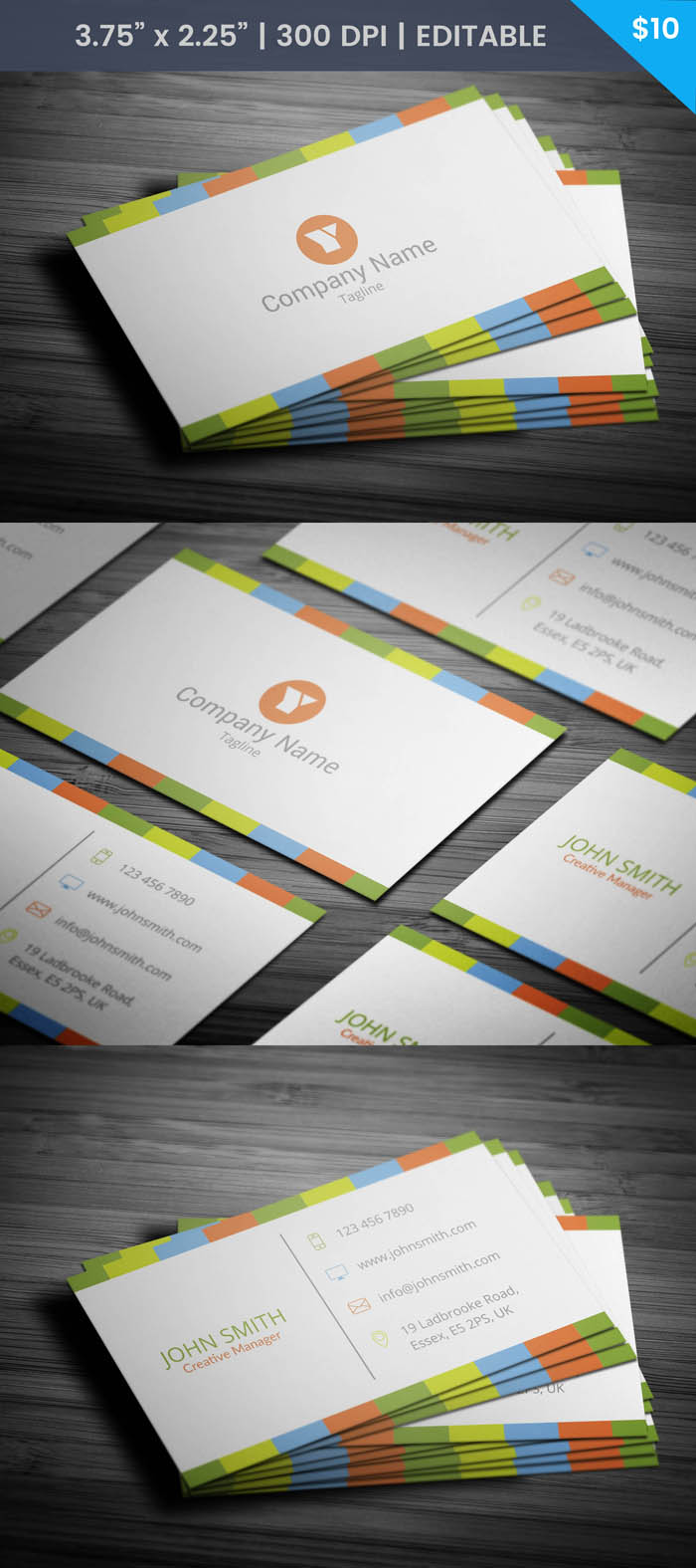Elegant Boutique Business Card - Full Preview