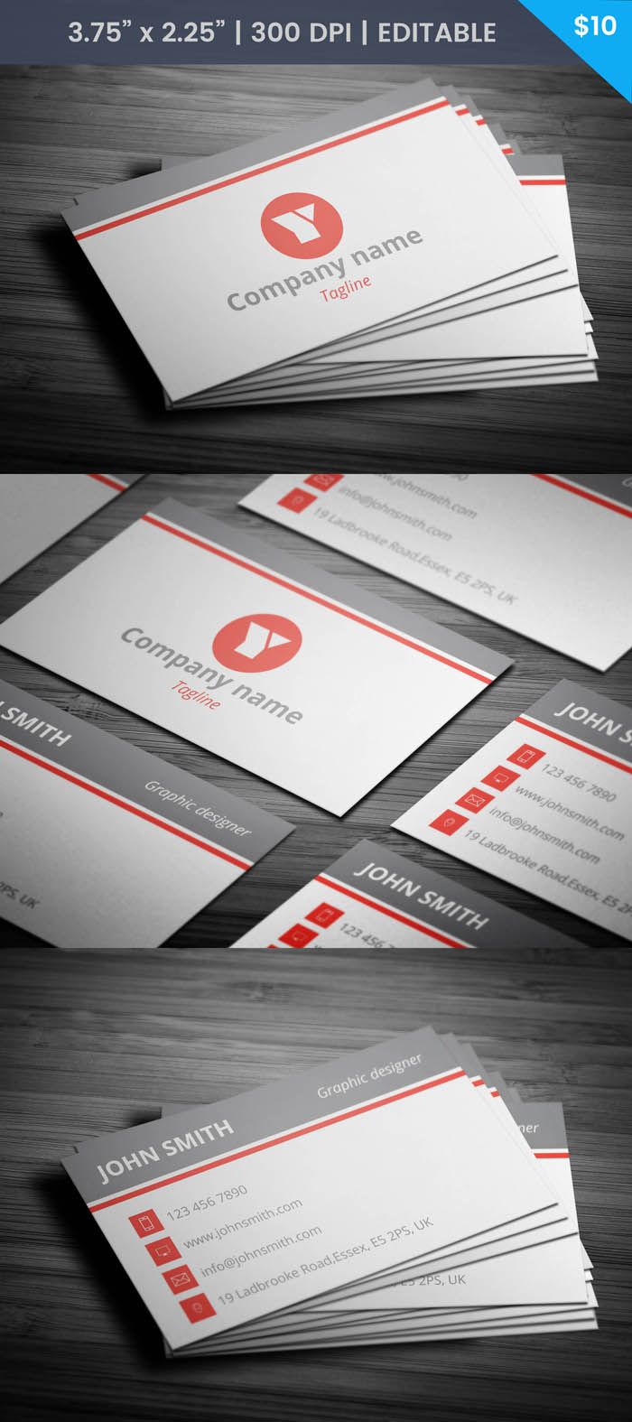 Language Teacher Business Card - Full Preview