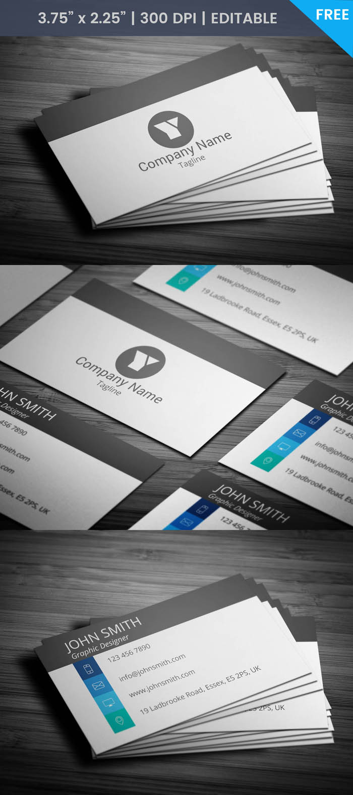 Free Cool Coo Business Card Template