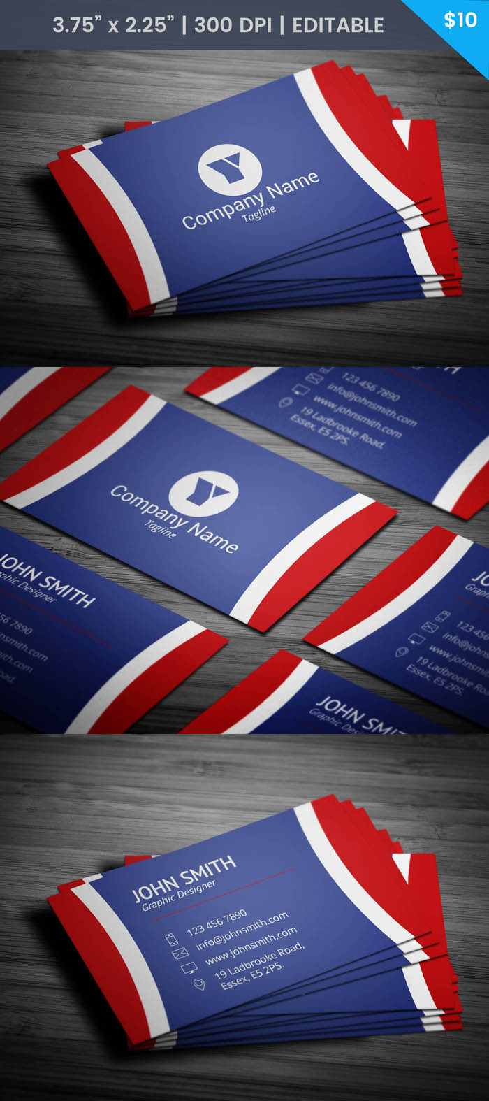 Free Professional Painter Business Card Template