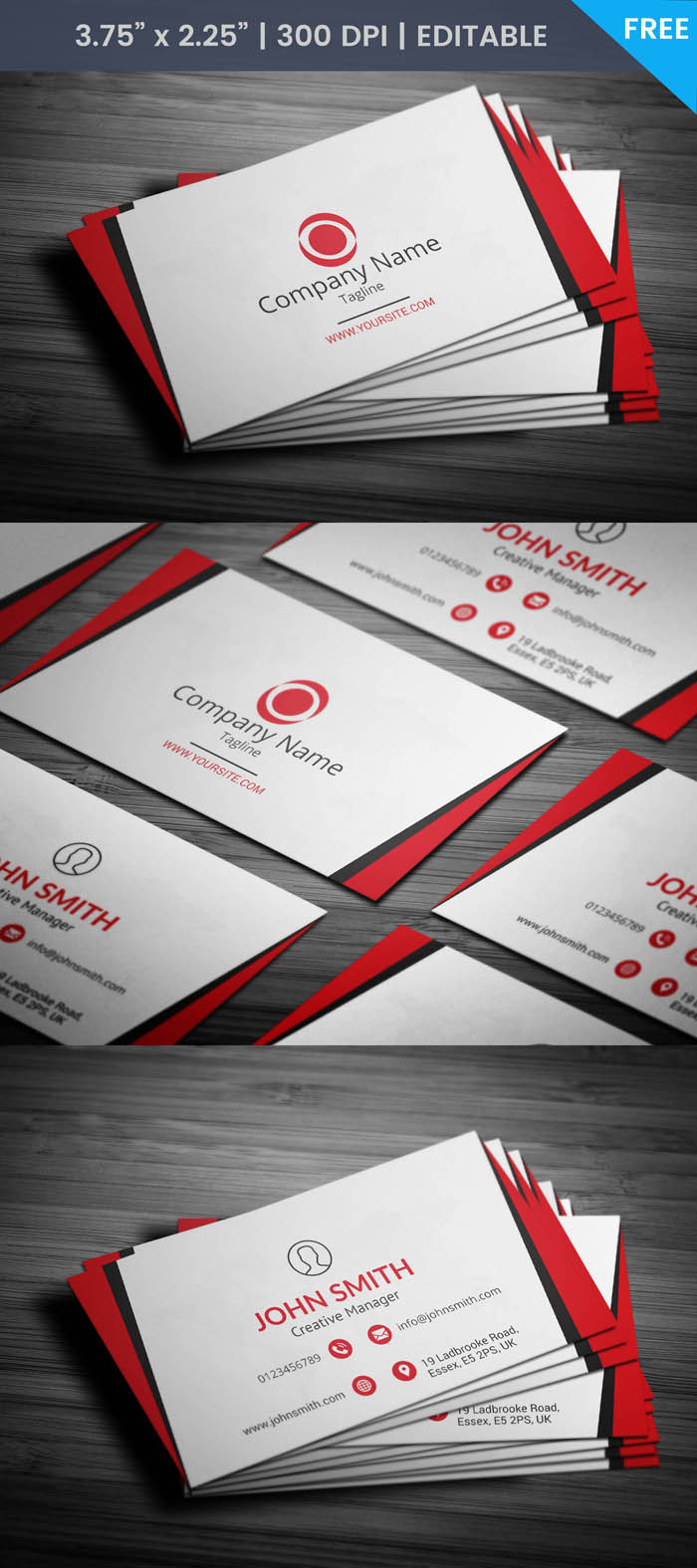 Free Networking Business Card Template