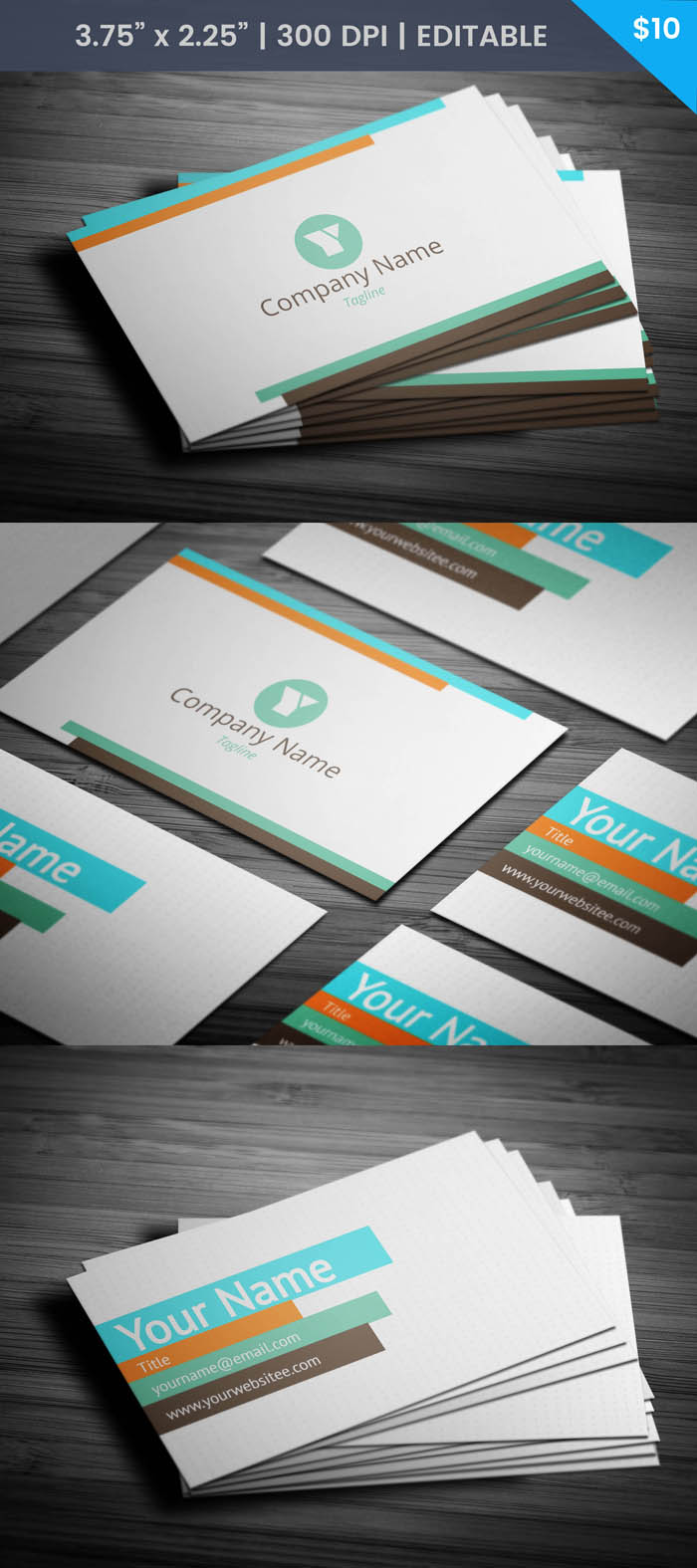 Free Fancy Business Card Template