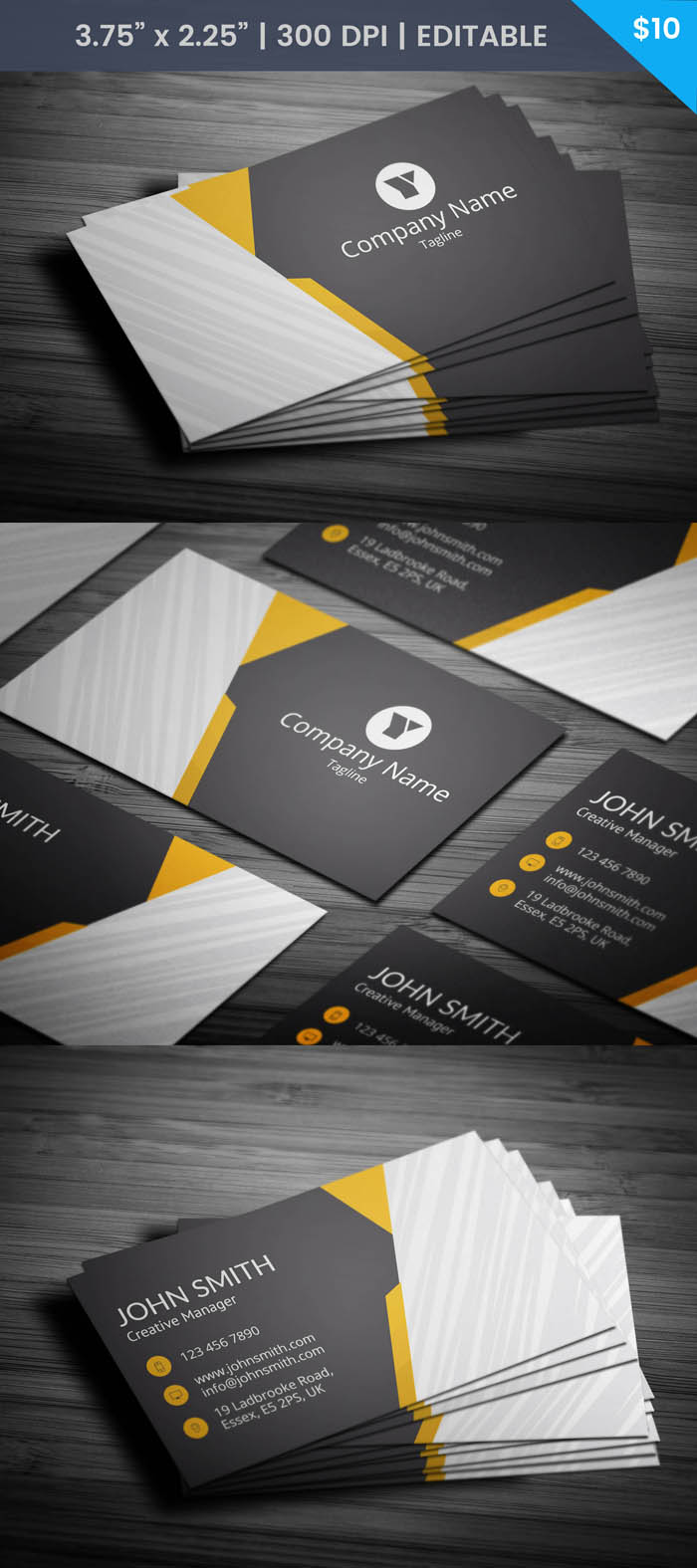 Car Salesman Business Card - Full Preview