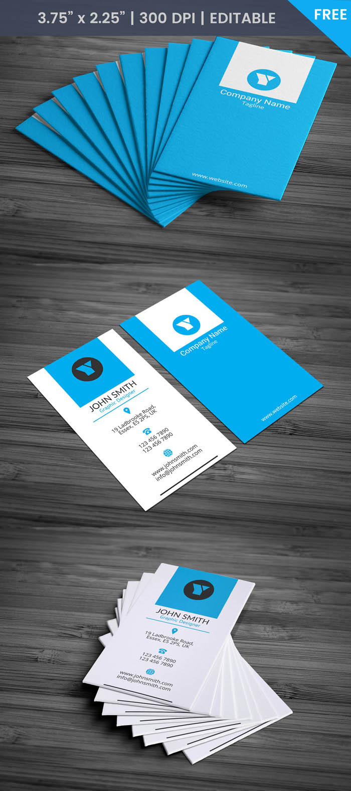 Free Director Business Card Template