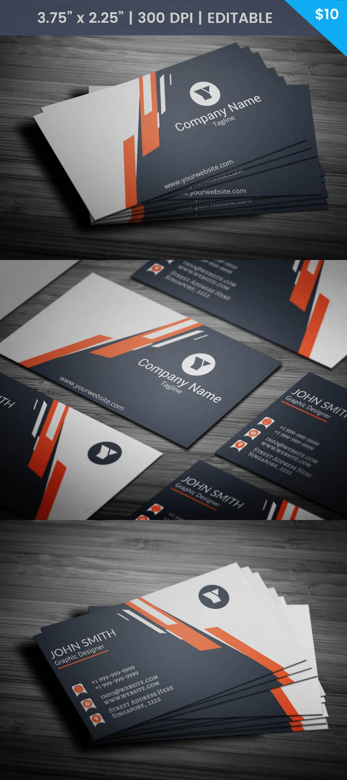 Free Attorney Business Card Template